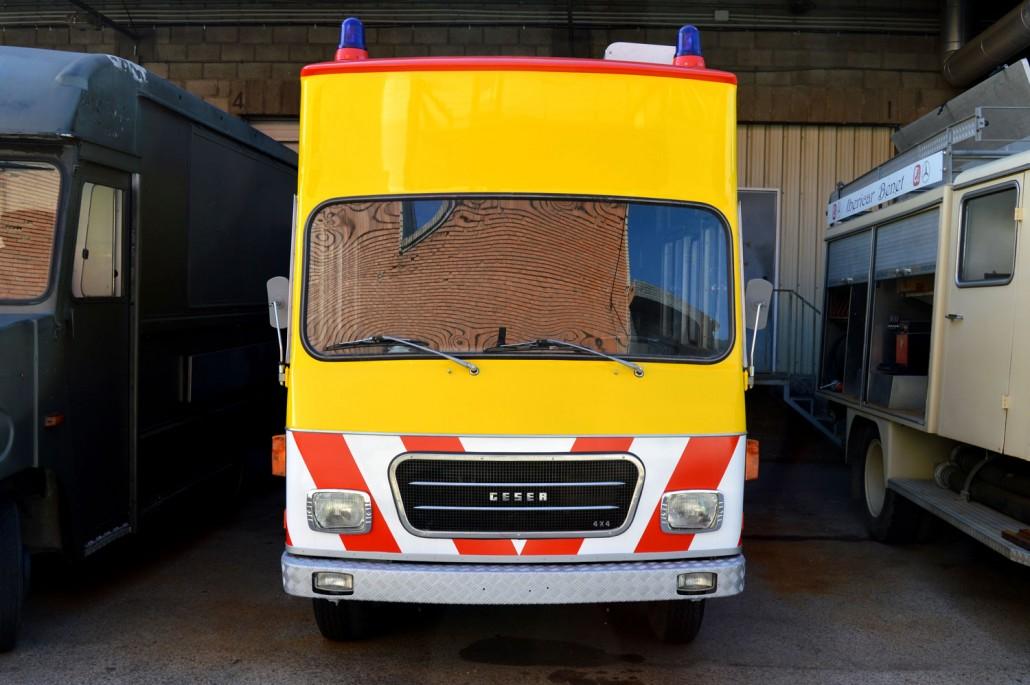 Furg n de bomberos geser sa street trucks - Coches de alquiler por meses ...