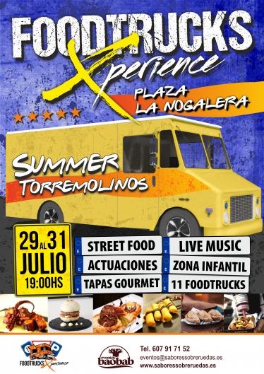 ad03c3Cartel Foodtrucks Xperience Torremolinos para camiones