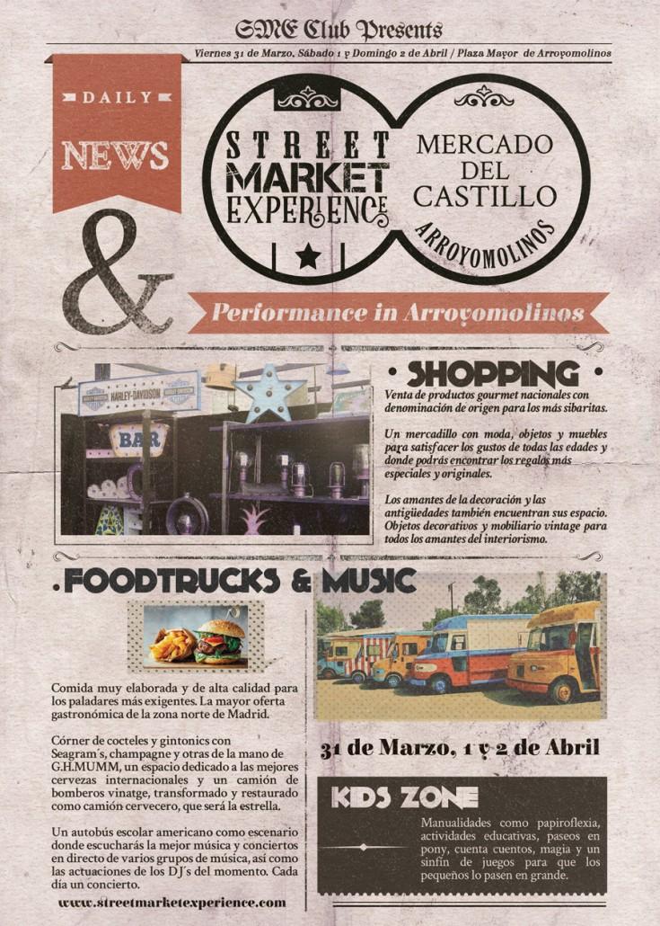 Street Market Experience News