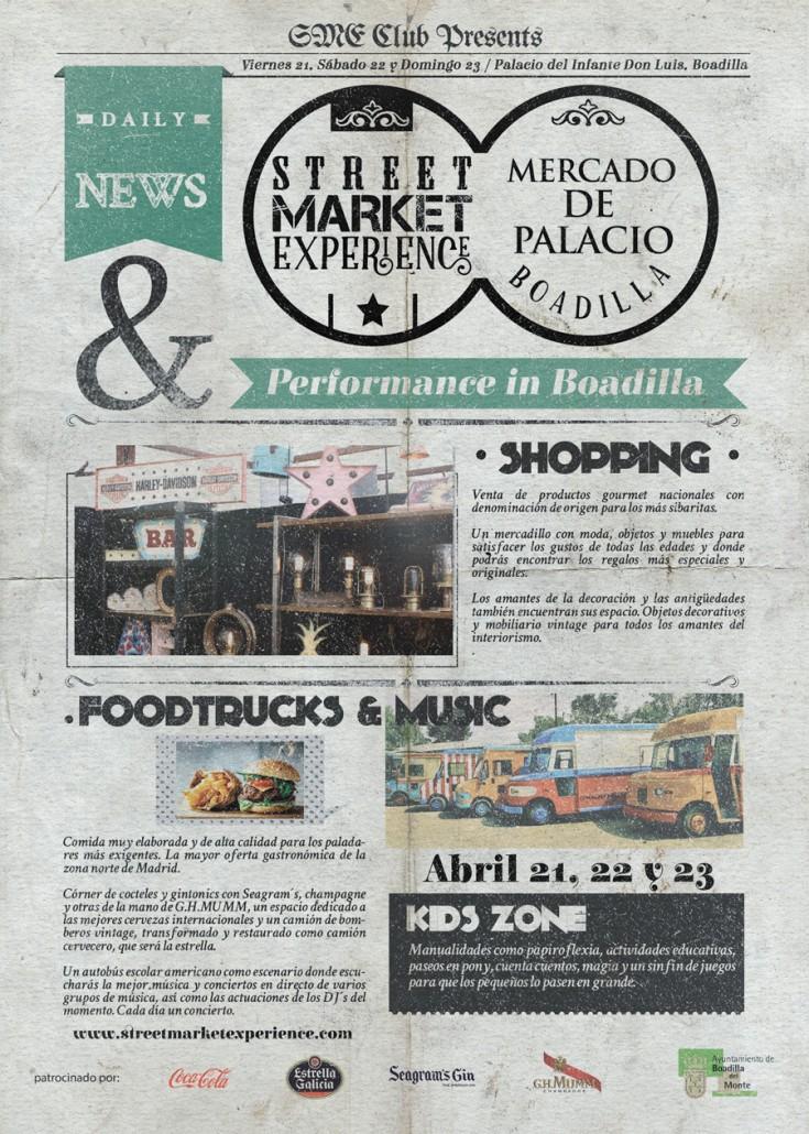 Mercado de Palacio en Boadilla del Monte