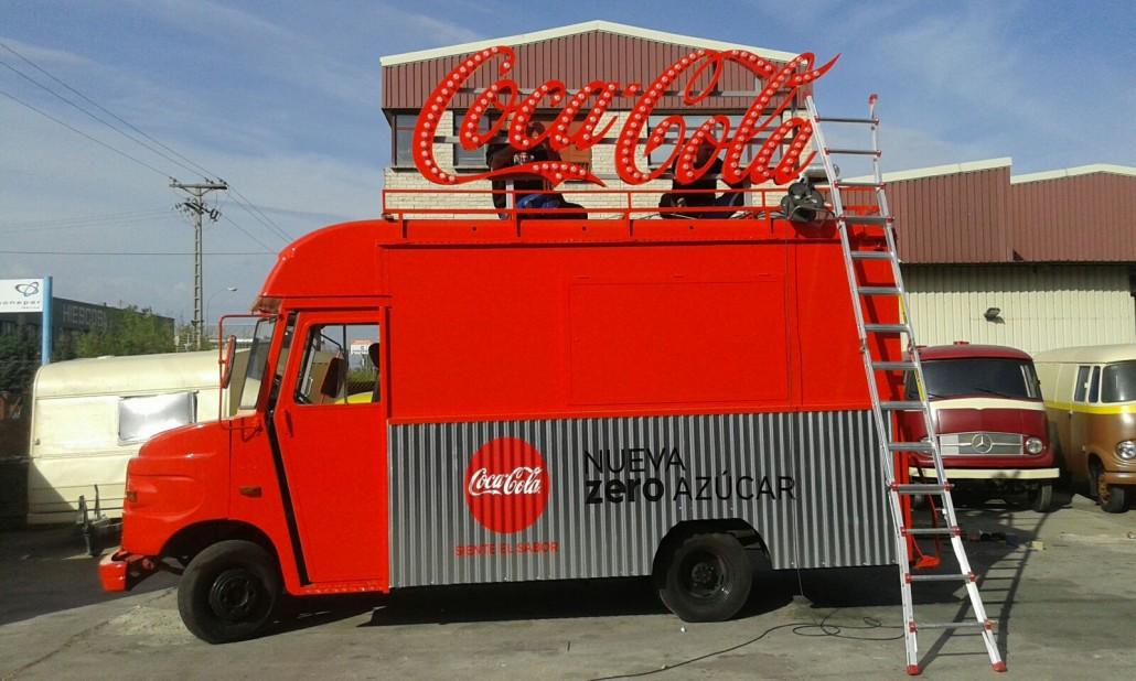 Foodtruck Coca-Cola Zero Azúcar