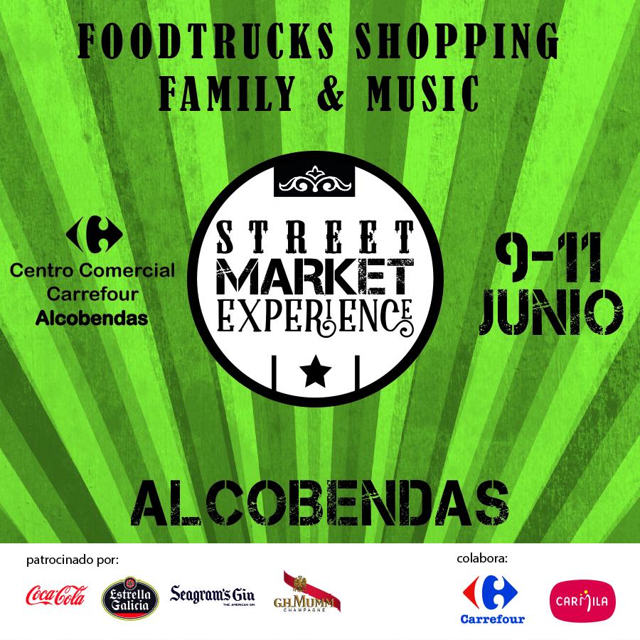 Street Market Experience Carrefour Alcobendas