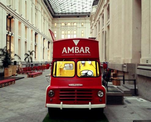 Food truck para Cervezas Ambar