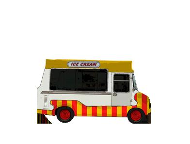 furgoneta bedford ice creams