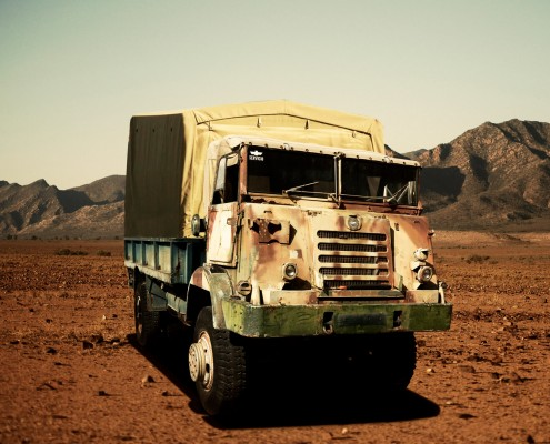 Camión militar pegaso