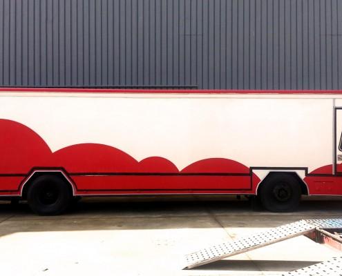 Camión tienda Pegaso Misar