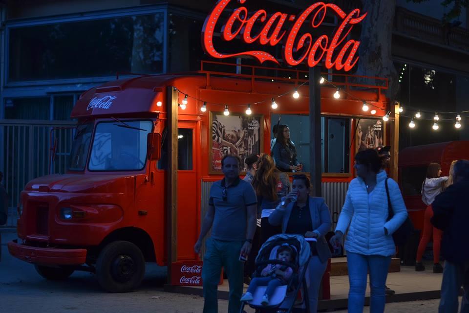 food truck para Coca-Cola