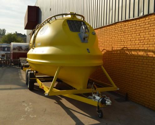 Submarino SI-GN de 1985 amarillo