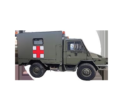 vehículo militar iveco